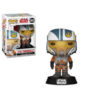 Star Wars: Episode VIII - The Last Jedi - C'ai Threnalli - Pop Vinyl Figure 260