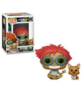 Cowboy Bebop - Ed and Ein - Pop Animation Vinyl Figures 470
