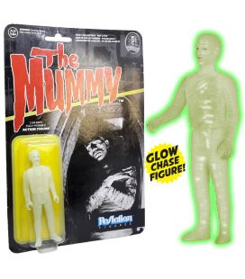 The Mummy - Rare Chase Glow ReAction Retro Figure