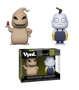 The Nightmare before Christmas - Oogie Boogie & Behemoth - Vynl boxset figures