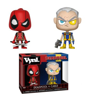 Deadpool - Deadpool and Cable - 2 Pack Vynl Boxset Figures