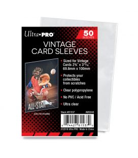 Vintage Card Sleeves - Ultra Pro - Pack of 100
