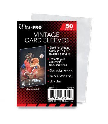 Vintage Card Sleeves - Ultra Pro - Pack of 100