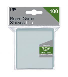 Pochette de protection pour cartes de jeu carrés - Paquet de 100 - Ultra-Pro