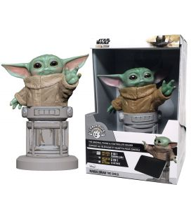 Star Wars The Mandalorian - Baby Yoda - Cable Guys Phone Holder