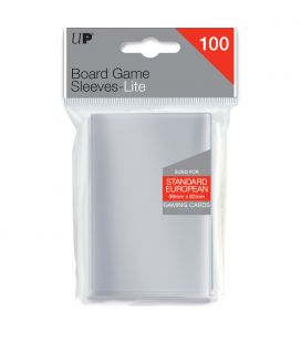 Board Game Sleeves Lite Standard European - 59 x 92 mm - Ultra PRO - Pack of 100