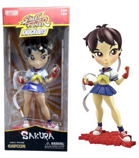 Street Fighter Knockouts - Sakura - Vinyl Figure 7""