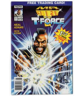 Mr T and the T-Force - BD n°1, Juin 1993 avec Mister T