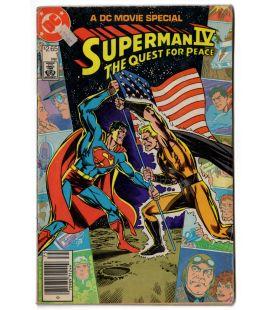 Superman 4 - The Quest For Peace - Ancienne BD Edition spéciale film de 1987
