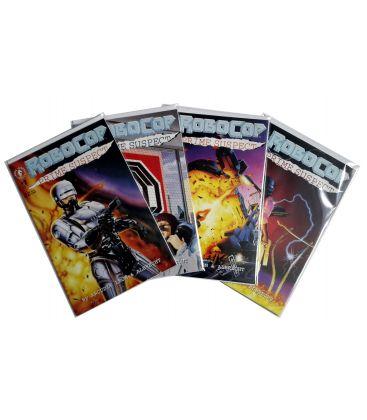 Robocop: Prime Suspect - Set of 4 Comics