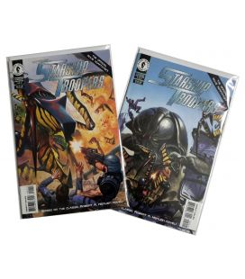 Starship Troopers - Set of 2 Comics - Official Movie Adaptation