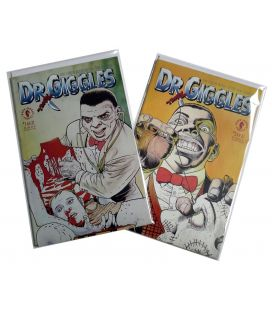 Dr. Giggles - Set of 2 Comics - Official Movie Adaptation