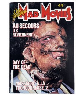Mad Movies Magazine N°44 - Vintage November 1986 issue with Texas Chainsaw Massacre 2