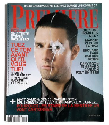 Première Magazine N°331 - September 2004 issue with Tom Cruise