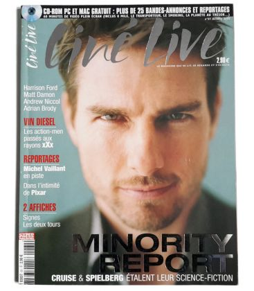 Ciné Live Magazine N°61 - October 2002 - French Magazine with Tom Cruise