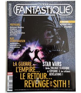 L'Ecran Fantastique Magazine N°246 - September 2004 with Star Wars