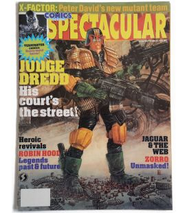 Comics Scene Spectacular Magazine N°5 - Vintage September 1991 issue with Judge Dredd