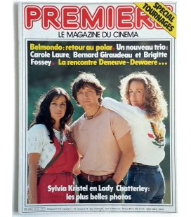 Premiere Magazine N°52 - Vintage July 1981 issue with Carole Laure and Bernard Giraudeau
