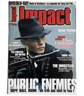 Impact Magazine N°2 - February 2009 issue with Johnny Depp