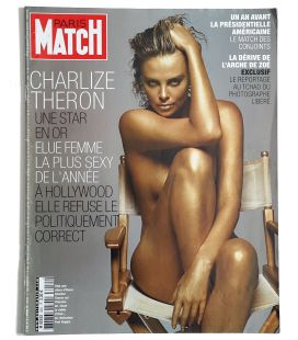 Paris Match Magazine N°3051 - November 8, 2007 issue with Charlize Theron