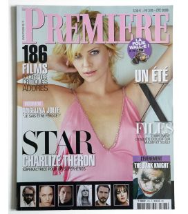 Première Magazine N°378 - Summer 2008 issue with Charlize Theron