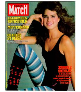 Paris Match Magazine N°1773 - Vintage may 20, 1983 issue with Brooke Shields
