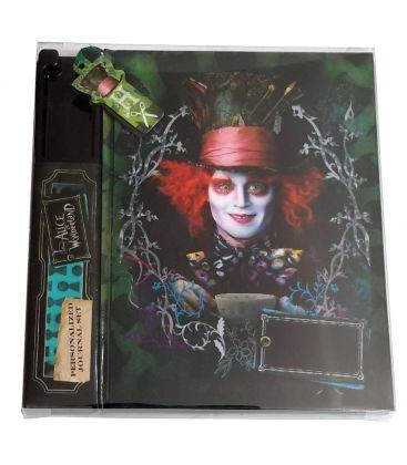 Alice in Wonderland - Personalized Journal set Mad Hatter