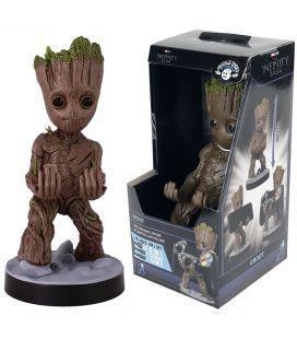 Les Gardiens de la galaxie - Groot - Support à téléphone ou manette de jeu Cable Guys