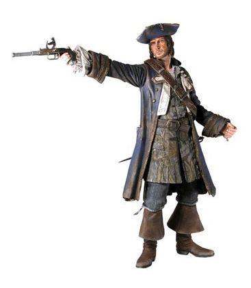 """Pirates des Caraïbes : Le Coffre du mort - Capitaine Norrington - Figurine 7"""""""