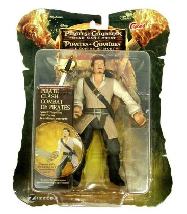 Pirates of the Caribbean: Dead Man's Chest - Will Turner - Action Figure 7""