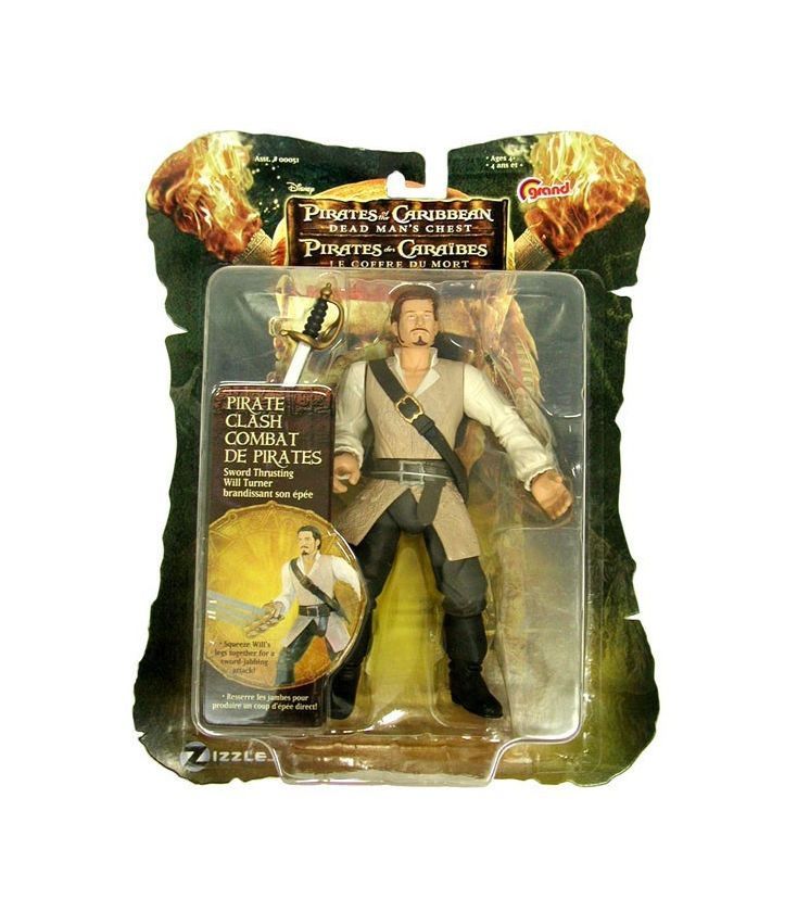 Pirates of the Caribbean: Dead Man's Chest - Will Turner - Action Figure 7