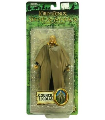 The Lord of the Rings: The Fellowship of the Ring - Council Legolas - Action Figure 7""