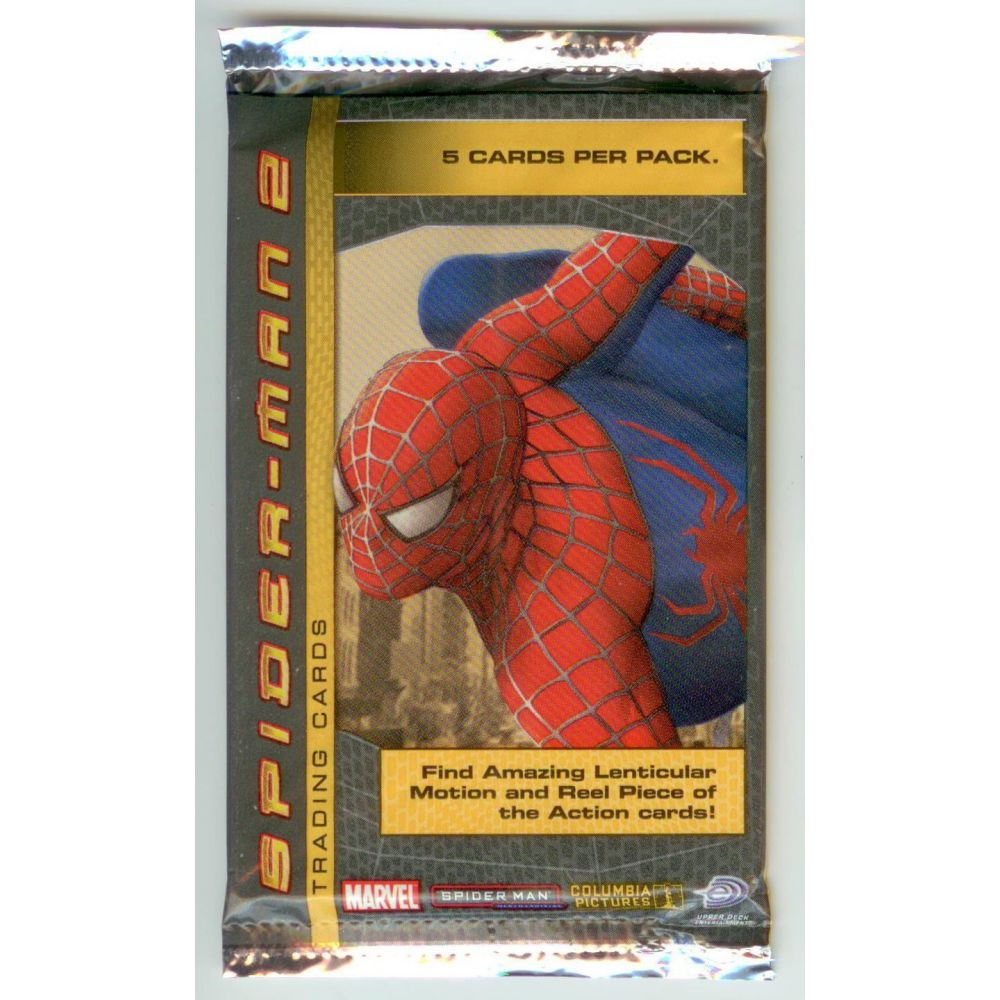 Spider Man 2 Trading Cards Pack Cinema Passion