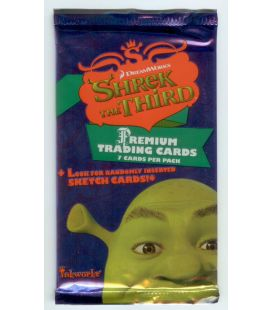 Shrek the Third - Trading Cards - Pack