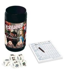 Alice in Wonderland - Yahtzee Game