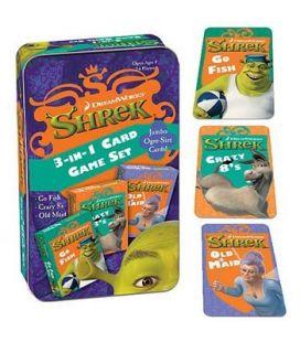 Shrek - Jeu de cartes 3 en 1