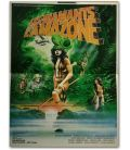 "The Treasure of the Amazon - 16"" x 21"" - Vintage Original French Poster"