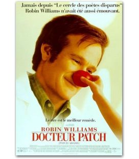 "Patch Adams - 16"" x 21"" - Original French Movie Poster"