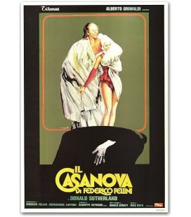"""Le Casanova de Fellini - 27"""" x 40"""" - Affiche italienne"""